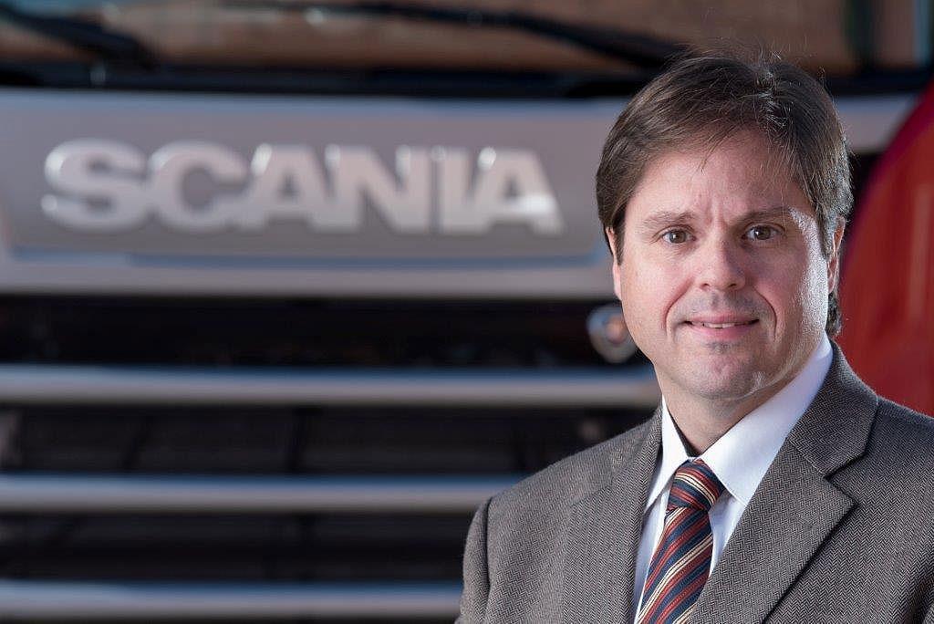 Gustavo Andrade, caminhões conectados da Scania