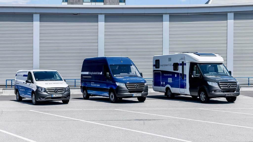 eVans, veículos elétricos do Grupo Daimler