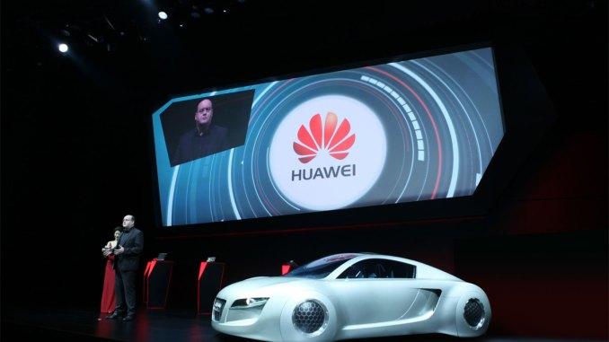 Huawei e Audi