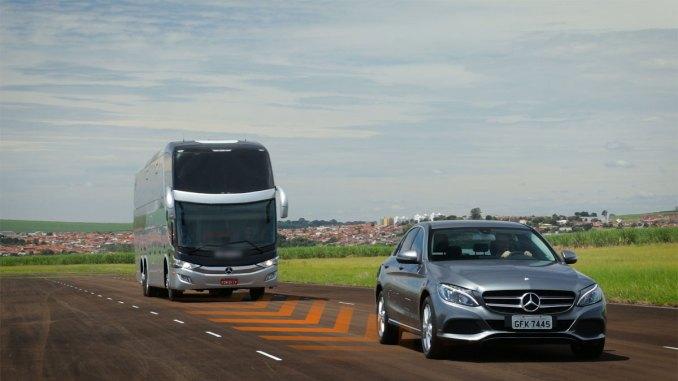 Autonomia de nível 2 da Mercedes