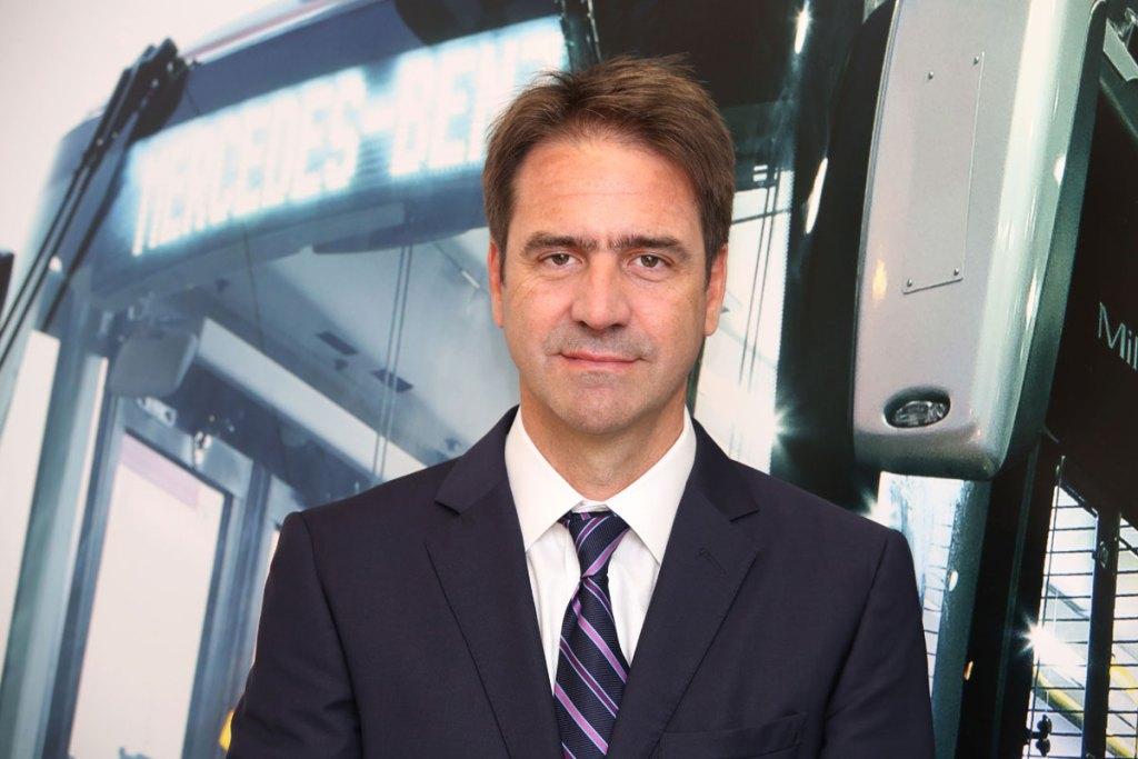 Diego Marin, diretor comercial do banco mercedes-benz