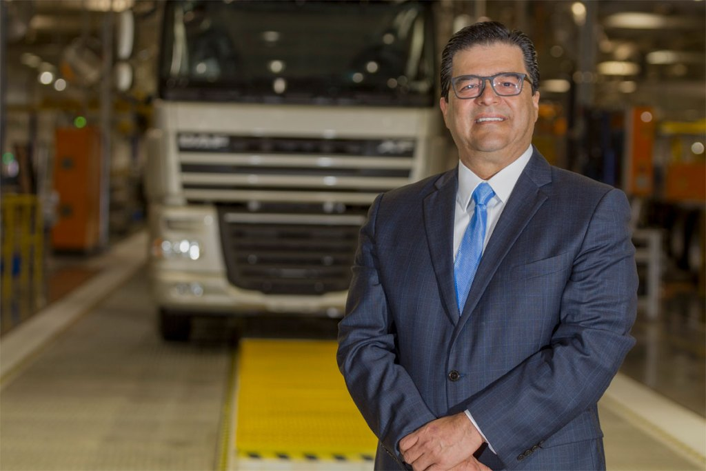 Carlos Ayala, presidente da DAF quer 10% do mercado nacional