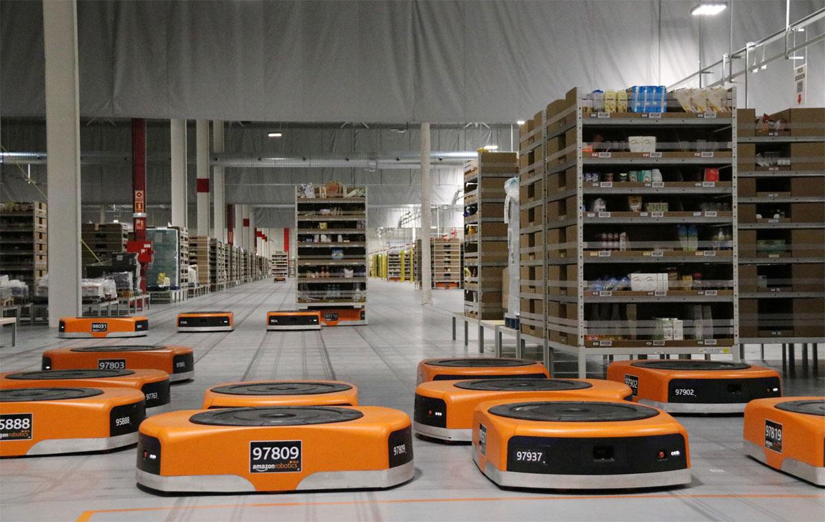 robótica na Amazon