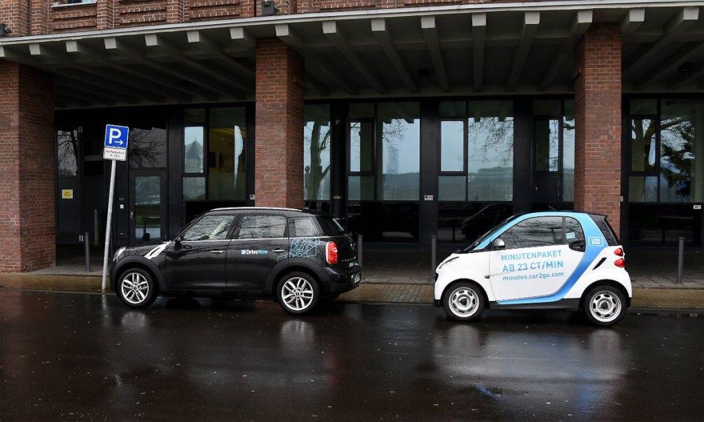 o futuro da mobilidade - Car2Go e DriveNow