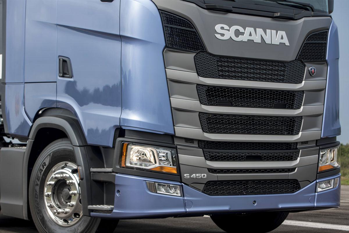 Cabine da nova geração de caminhões Scania