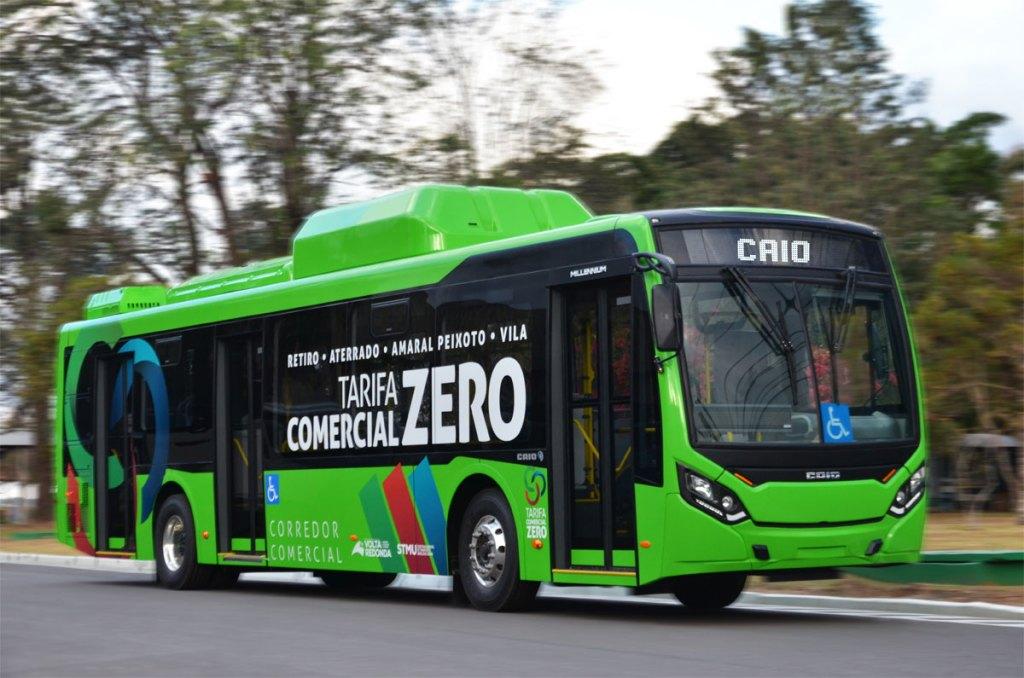 ônibus elétricos - Volta Redonda