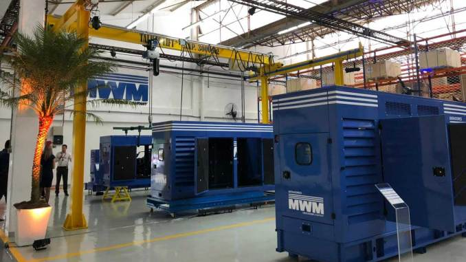 geradores de energia elétrica MWM