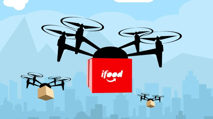ifood usa drone