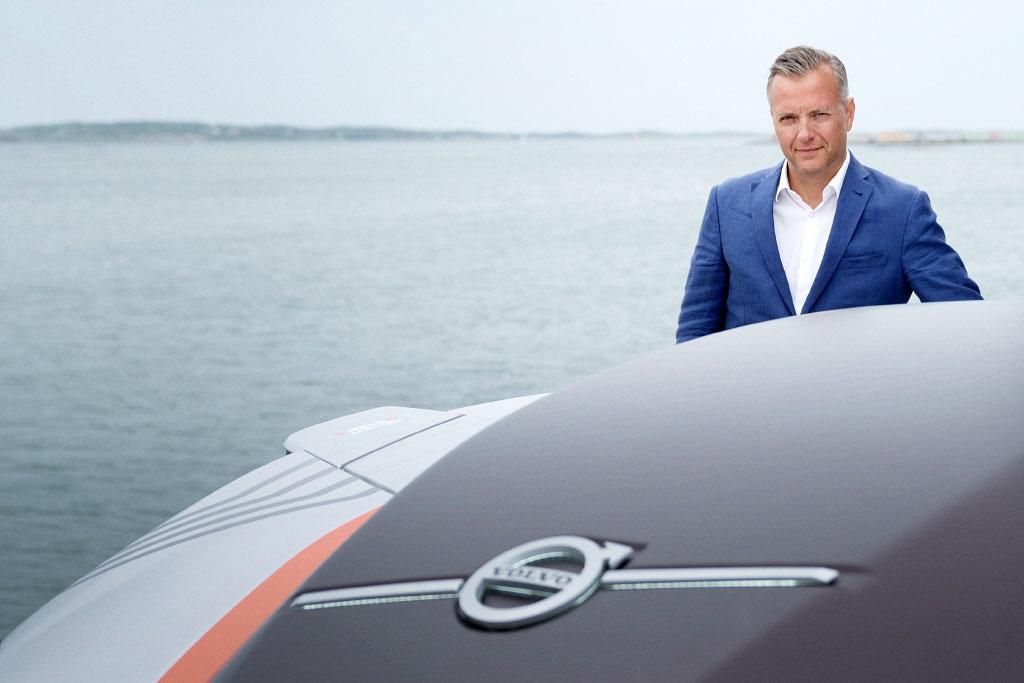 Mikael Karlsson, vice-presidente de soluções autônomas da Volvo Trucks