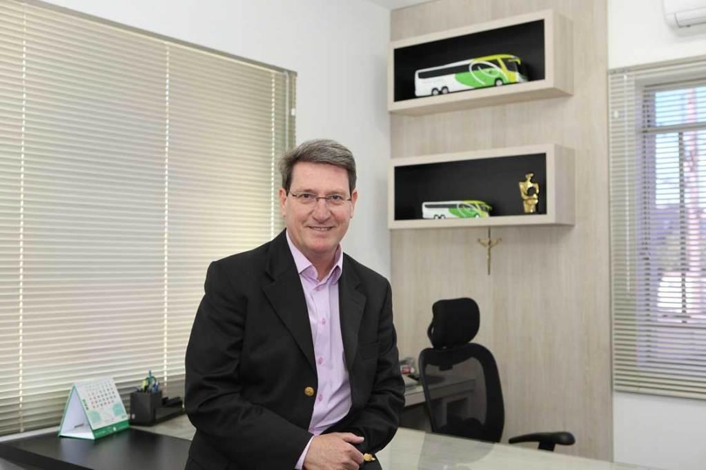 Florisvaldo Hudinik, diretor-presidente da Expresso Princesa dos Campos