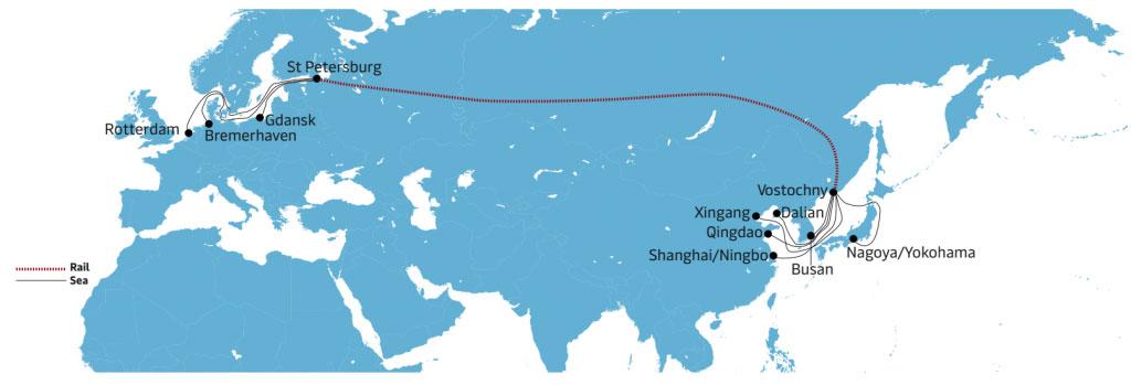 trem intercontinental
