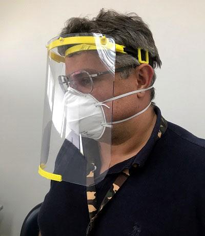protetores faciais