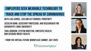 Employers Seek Wearable Technology to Track and Stop the Spread of Coronavirus