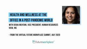Health and Wellness at the Office in a Post-Pandemic World