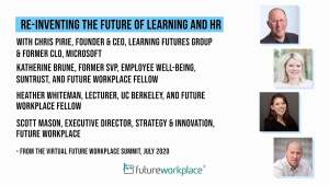 Re-inventing the Future of Learning and HR