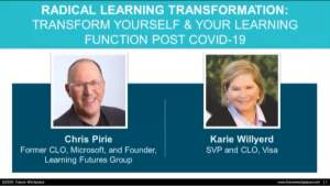 Webinar: Radical Learning Transformation Transform Yourself & Your Learning Function Post Covid-19