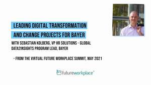 Leading Digital Transformation and Change Projects for Bayer