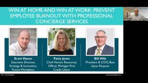 Webinar: Win at Home and Win at Work: Prevent Employee Burnout with Professional Concierge Services