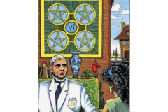 Four-of-Pentacles