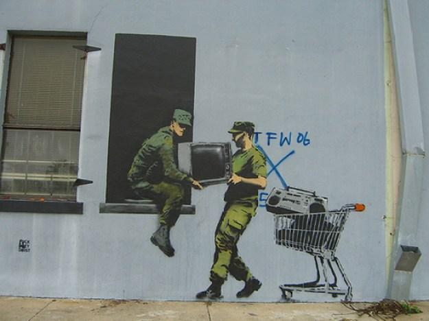 Banksy New Orleans'da