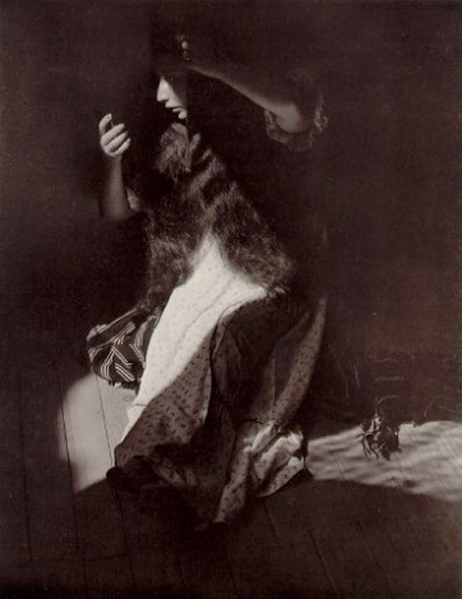 Manuel Alvarez Bravo, Portrait of the Eternal, 1935