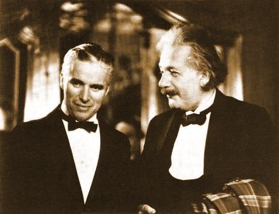 Chaplin ve Einstein