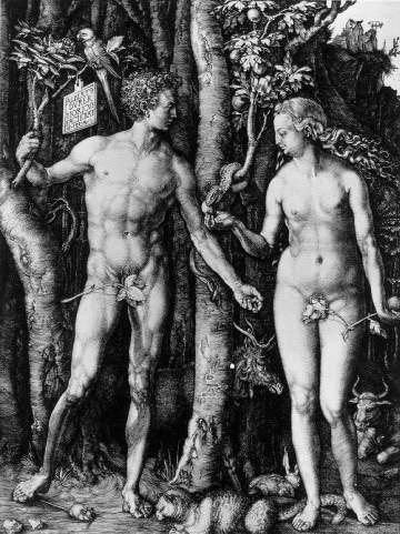 Albrecht Durer - Adem ve Havva