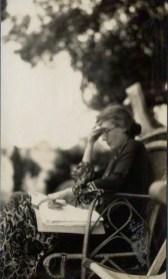 NPG Ax142598; Virginia Woolf (nÈe Stephen)