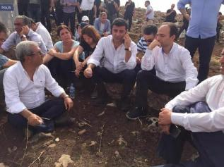 Long Walk of Selahattin Demirtas, HDP (People's Democratic Party) Co- Leader