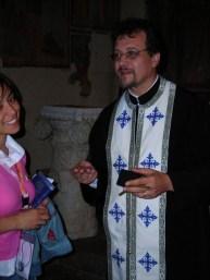 Ecumenismo, con Padre Vasile Andreca, responsabile della Comunità Ortodossa Romena di Terni.