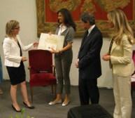 """Premiazione in Campidoglio: Avv. Monica Marinescu riceve il premio """"Roma Capitale delle donne"""" Foto: Copyright © Simona C. Farcas"""