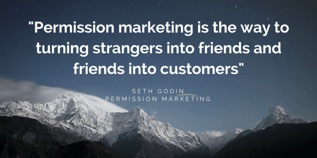Quote by Seth Godin _ Permission Marketing by FutursTalents