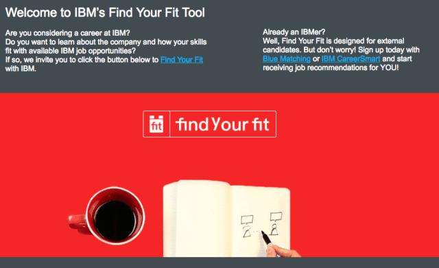 Find Your Fit_IBM Career Site_FutursTalents_Jean-Baptiste Audrerie_Octobre 2016