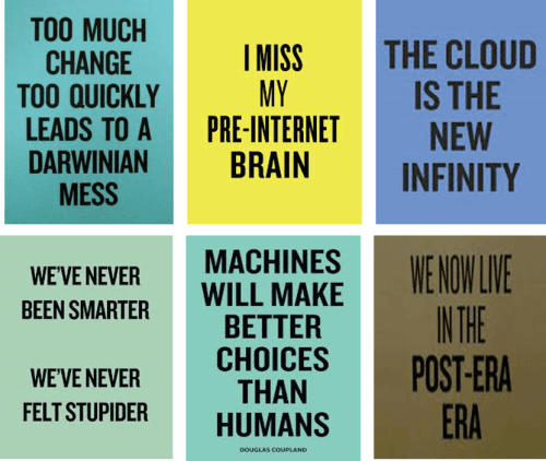 Douglas Copland - Artist - Slogans for the 21st century