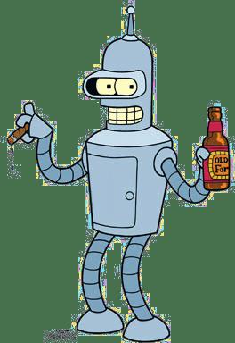 Matt Groening_Futurama_Ai_Robot