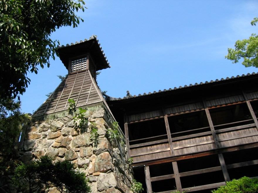 倉敷美観地区 阿智神社 高灯籠