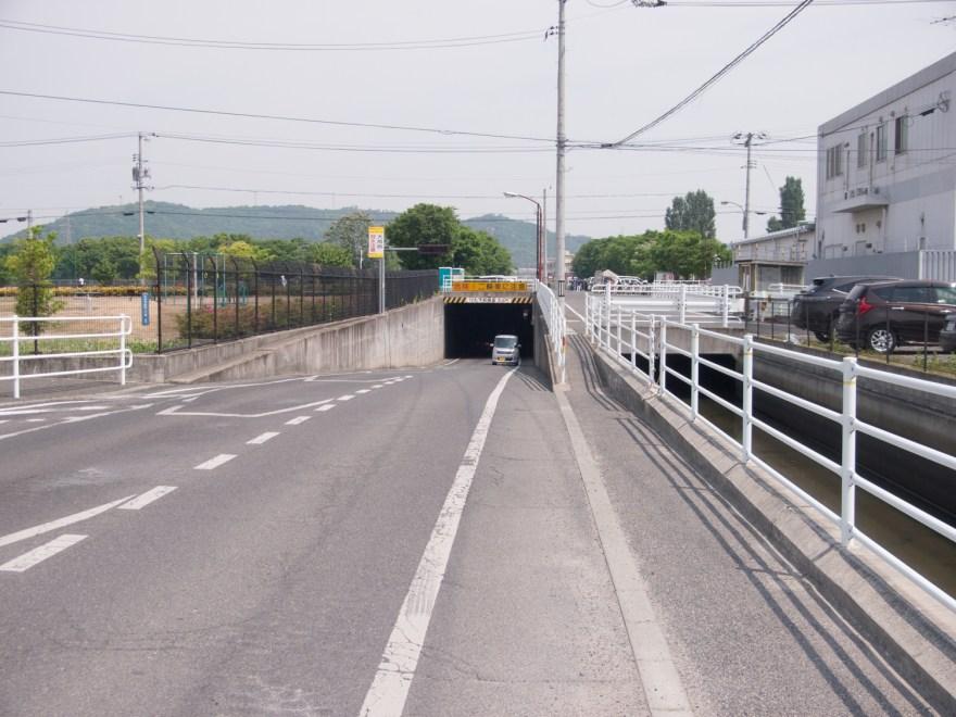 大野辻 南北の旧道