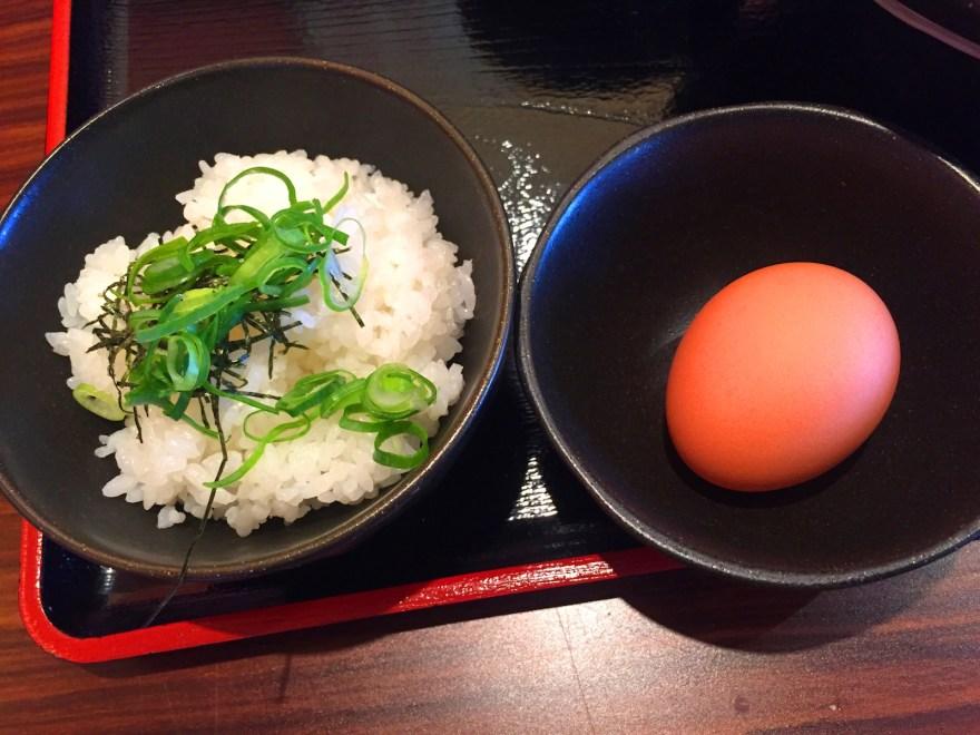 麺匠あらき 替え飯+玉子
