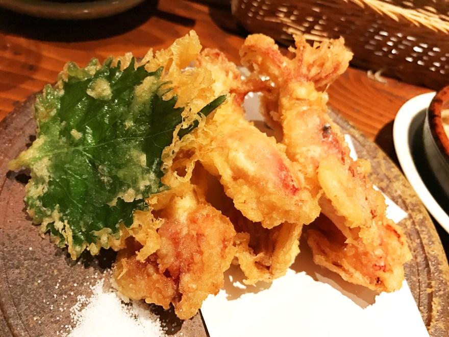 チイイカの天ぷら
