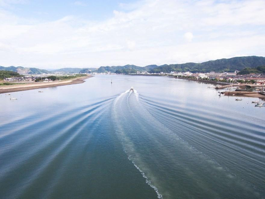 笠岡湾(神島大橋から)