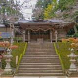 天石門別神社 拝殿