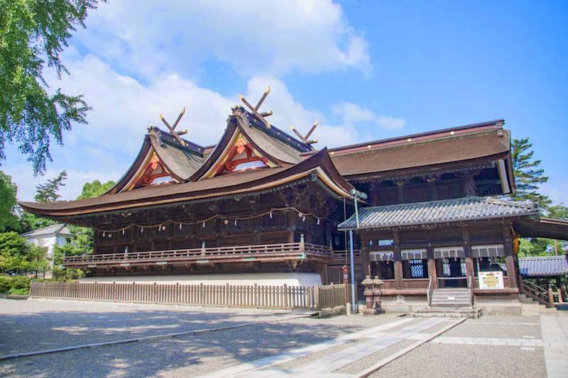 吉備津神社 本殿