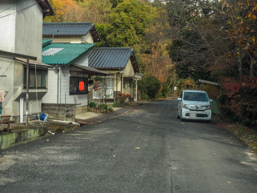 北ちゃん:店舗外観・店頭の道