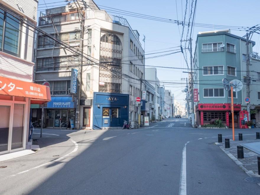 熊五郎:桃太郎大通りから北へ曲がったところ
