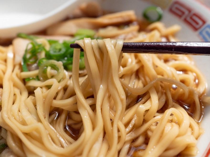 みやま:中華そば 麺
