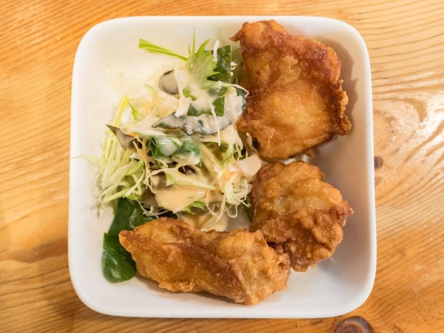 満麺亭:鶏のから揚げ