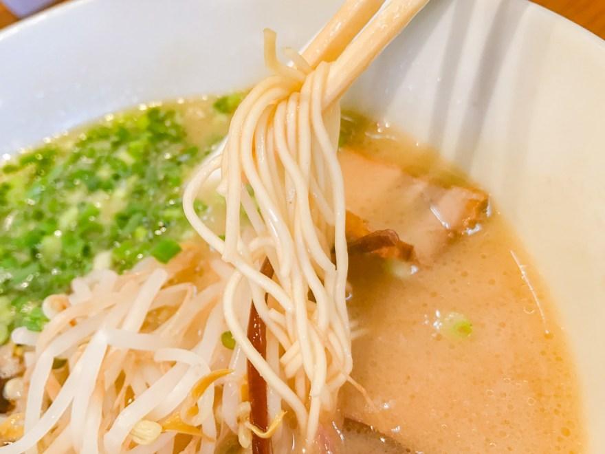 味の蔵:香味ラーメンの麺