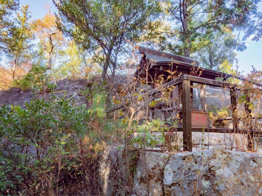 石上布都魂神社:奥宮(本宮)の磐座