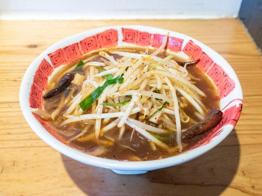 遼太郎:朱丸麺