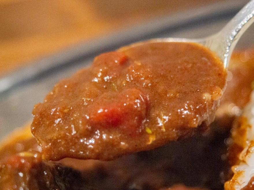 ひろや:ホホ肉たっぷりカレーライス